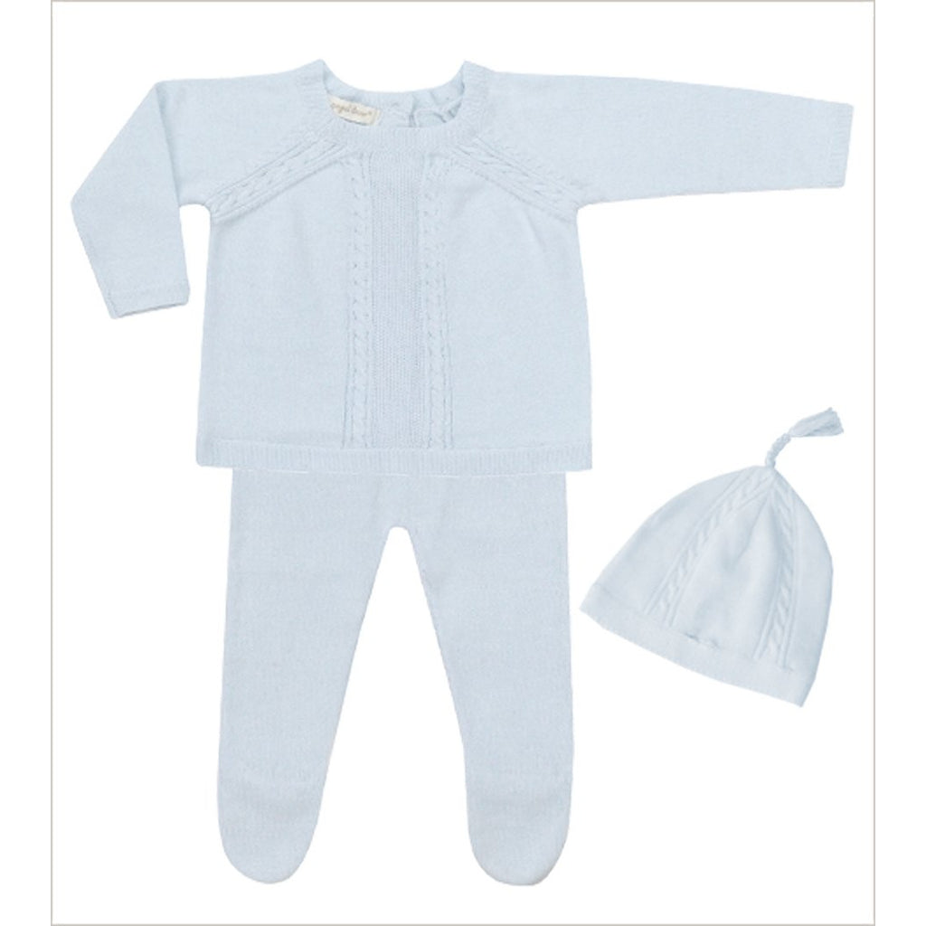 Angel Dear Take Me Home Blue 3pc Set