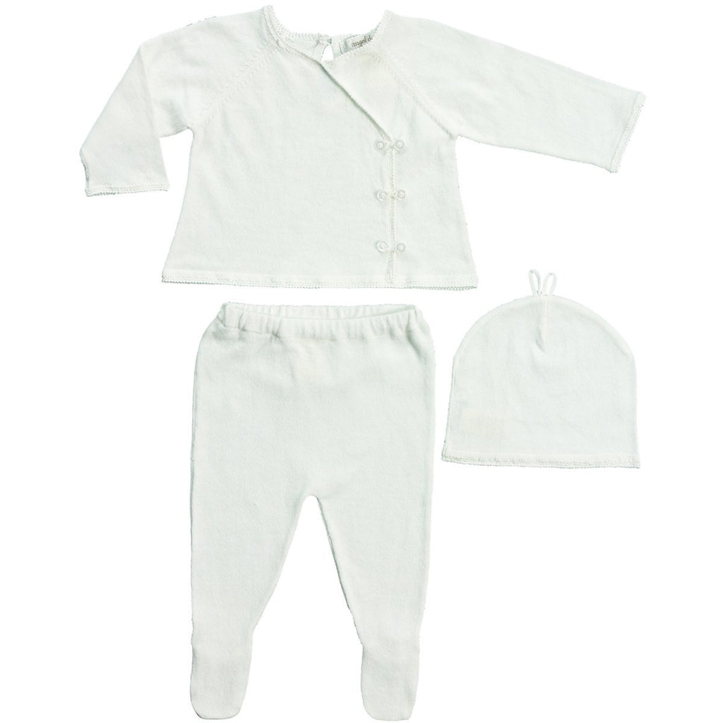 Angel Dear Take Me Home Ivory 3pc Set