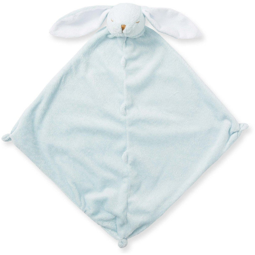 Angel Dear Blankie / Lovie Blue Bunny - Monogram Available