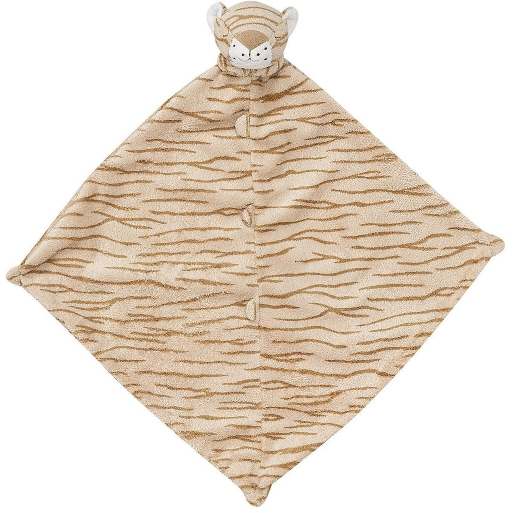 Angel Dear Blankie / Lovie Tiger Tan Stripes - Monogram Available