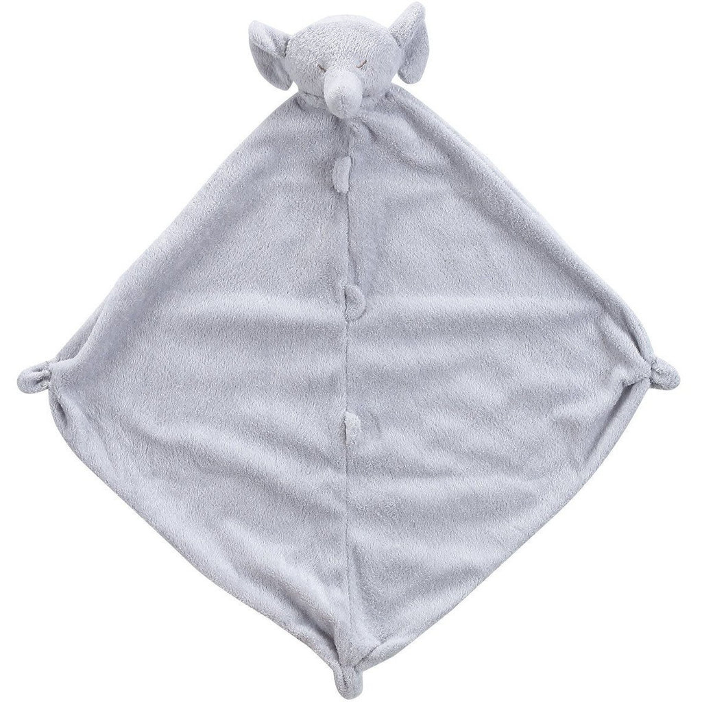 Angel Dear Blankie / Lovie Grey Elephant - Monogram Available