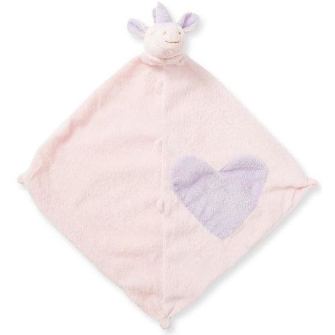Angel Dear Blankie / Lovie Pink Unicorn - Monogram Available