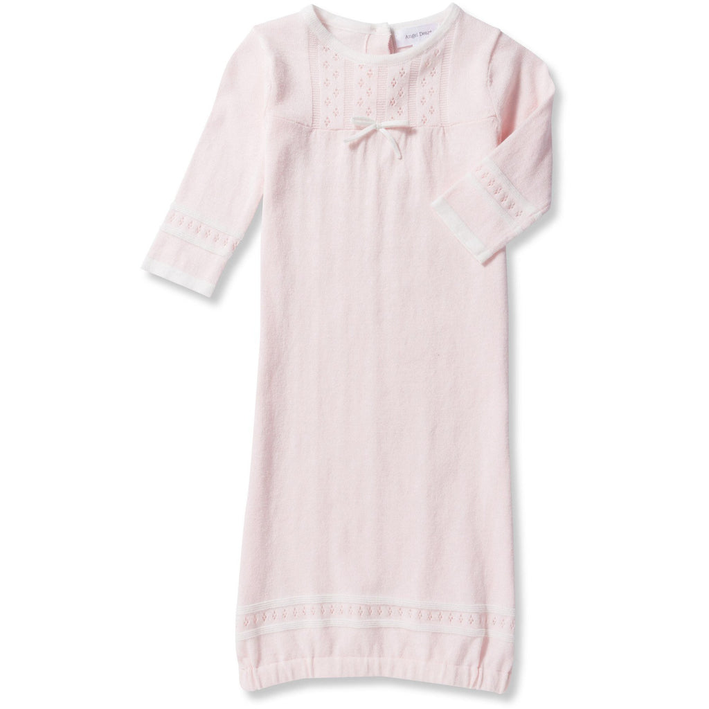 Angel Dear Take Me Home Classic Pink Baby Gown & Hat