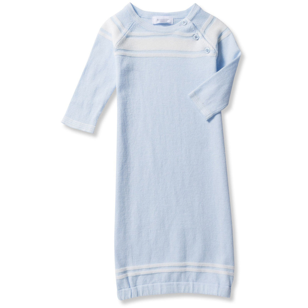 Angel Dear Take Me Home Classic Blue Baby Gown