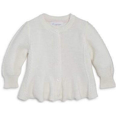 Angel Dear Girls White Cardigan Sweater