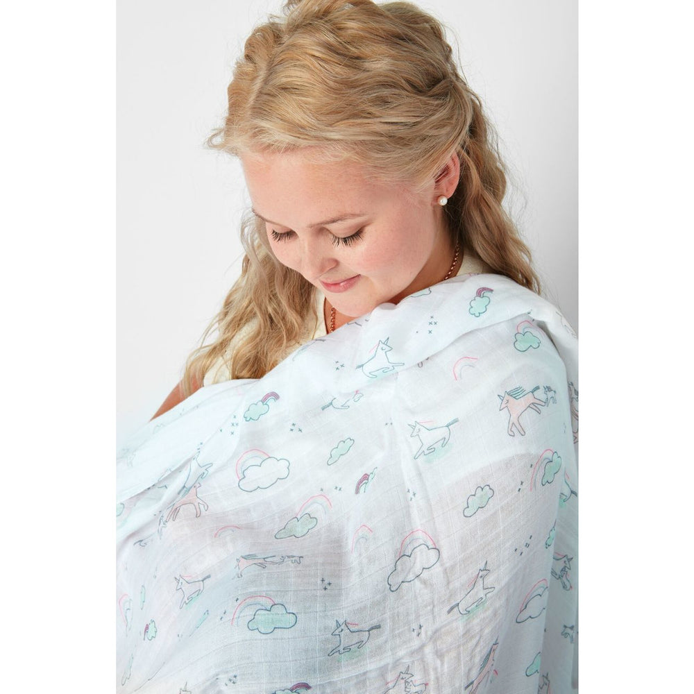 Angel Dear Swaddle Blanket Happy Unicorn