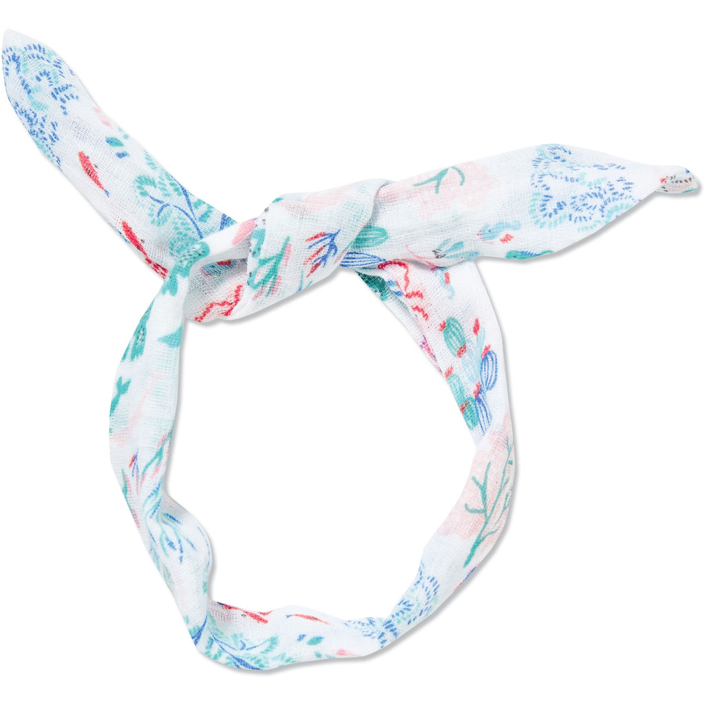 Angel Dear Muslin Headband, Ditsy Seaworld