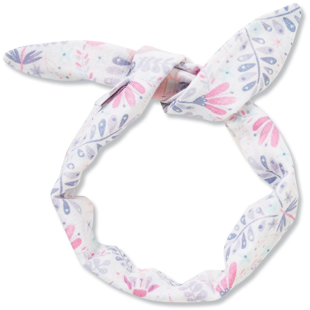 Angel Dear Muslin Headband, Unicorn Damask