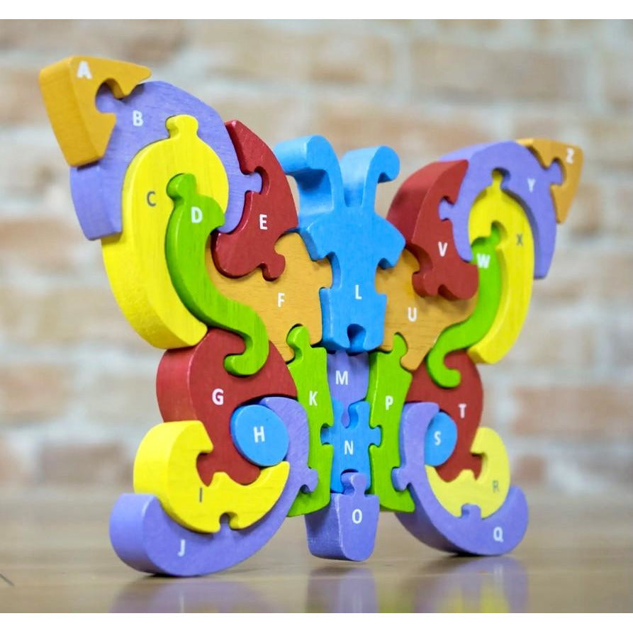 Begin Again - Butterfly A to Z Puzzle