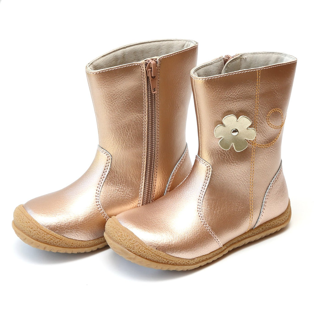 L'Amour - Madison Rose Gold Mid Boot