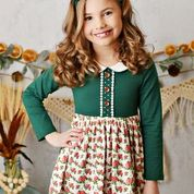 Swoon Baby - Greenville Picot Petal Pocket Dress