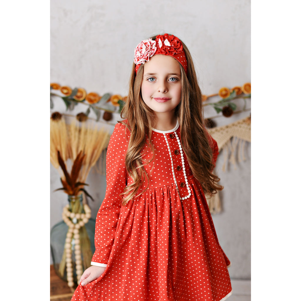 Swoon Baby - Laurel Dainty Dottie Dress