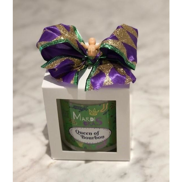 Bourbon Royalty Candle - Mardi Gras Collection