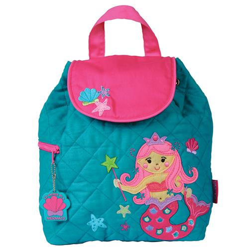 Stephen Joseph - Mermaid Quilted Backpack