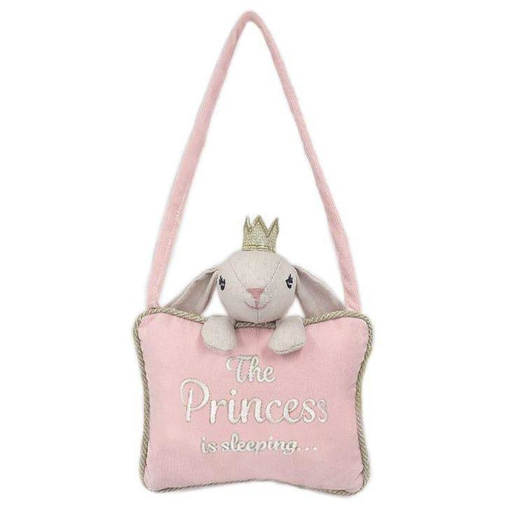 "Mon Ami - ""Princess Sleeping"" Pillow Door Hanger"