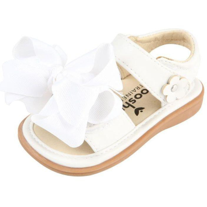Mooshu - Sandal Girls Squeaker Shoe with Bow