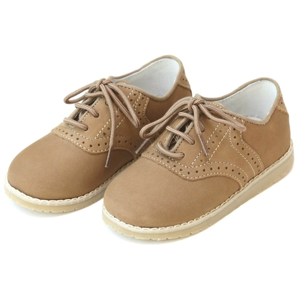 L'Amour - Noah Leather Oxford Khaki Shoe