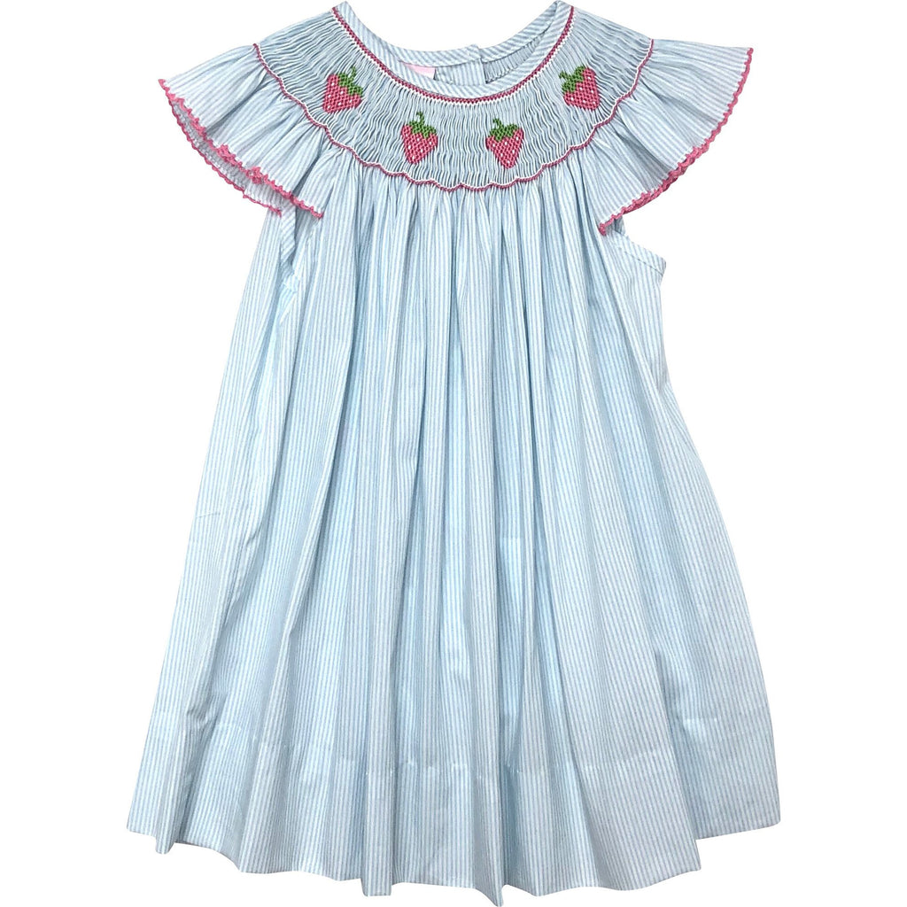 Petit Bebe Strawberry Bishop Dress