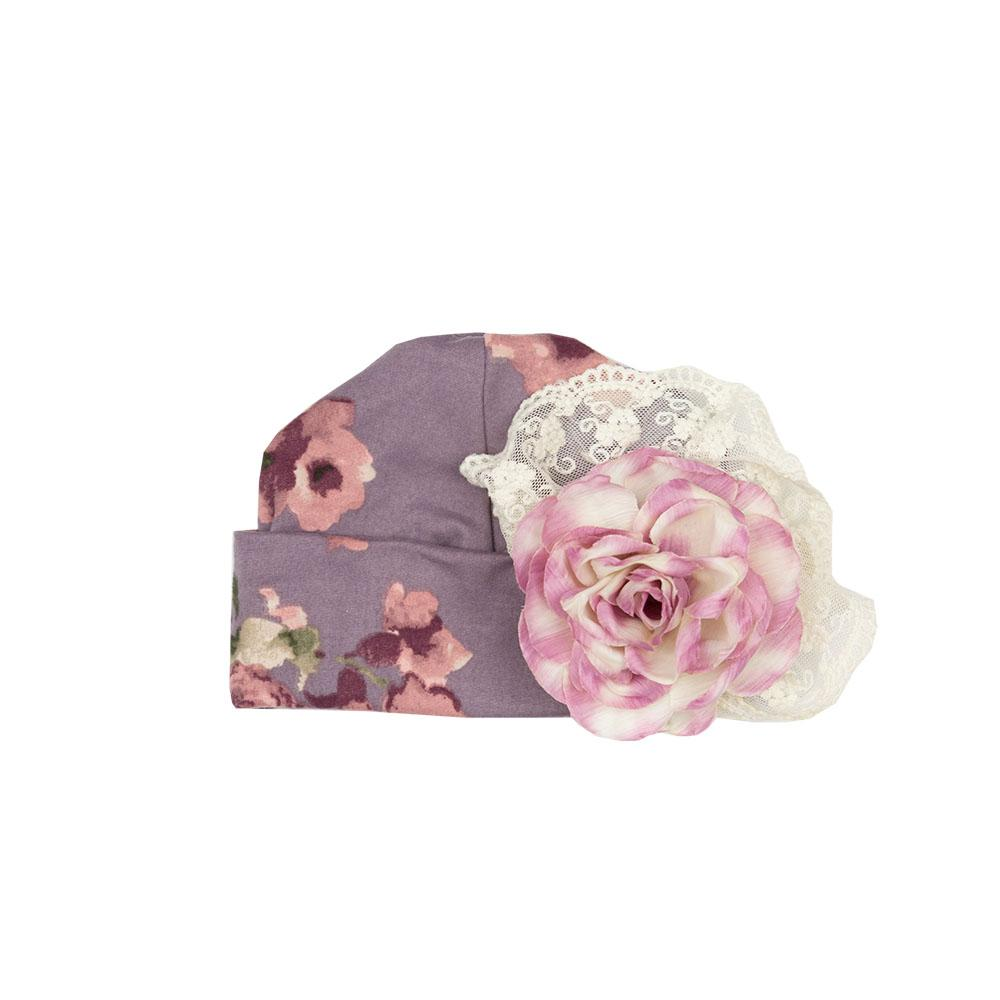 Haute Baby - Sugar Plum Infant Cap