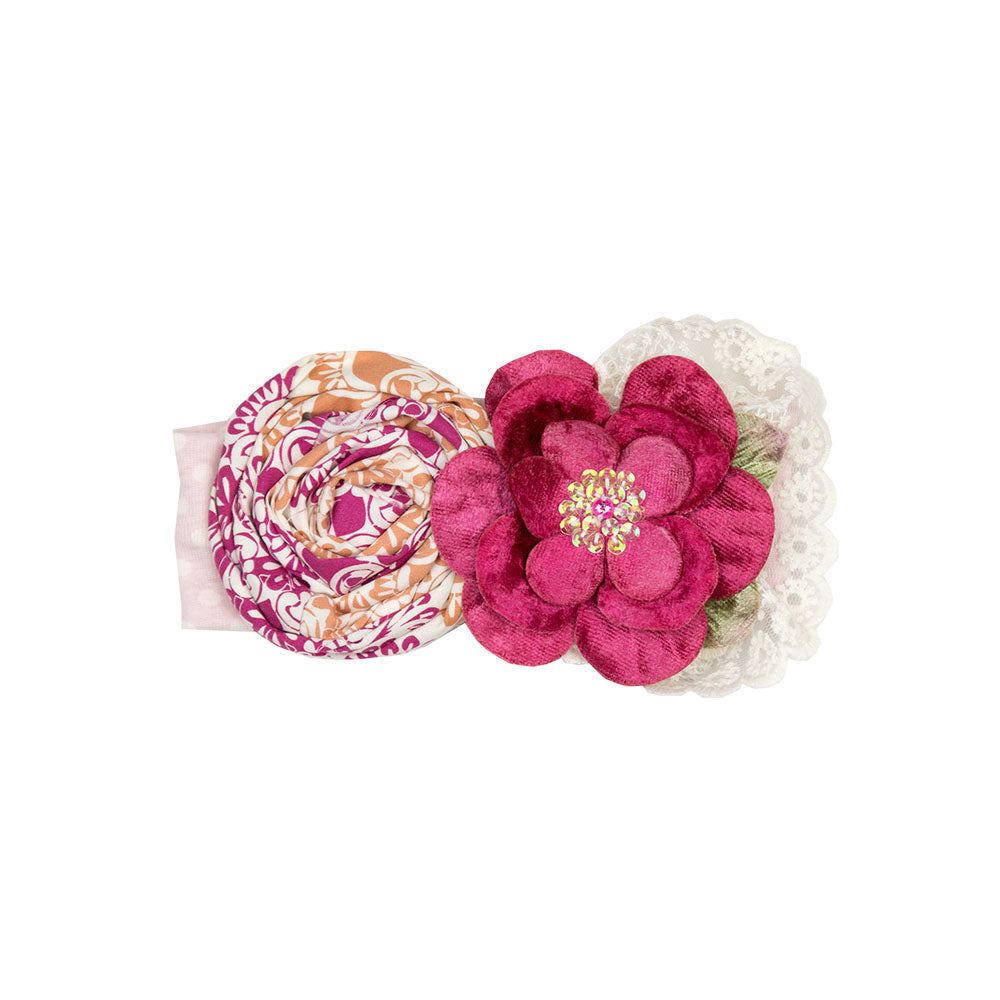 Haute Baby - Magenta Magic Girls Headband