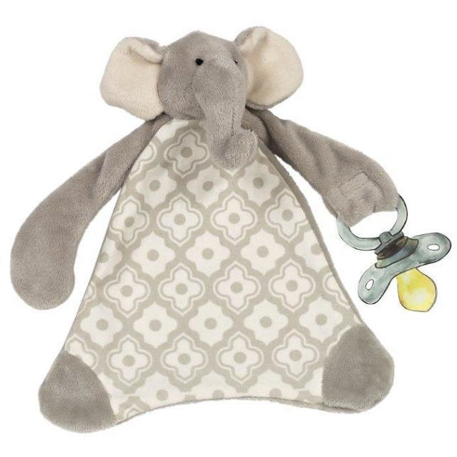 Maison Chic Emerson The Elephant Pacifier Blankie