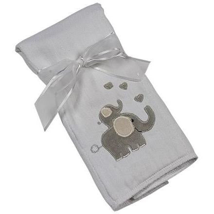 Maison Chic Emerson Elephant Burp Cloth - Monogram Available