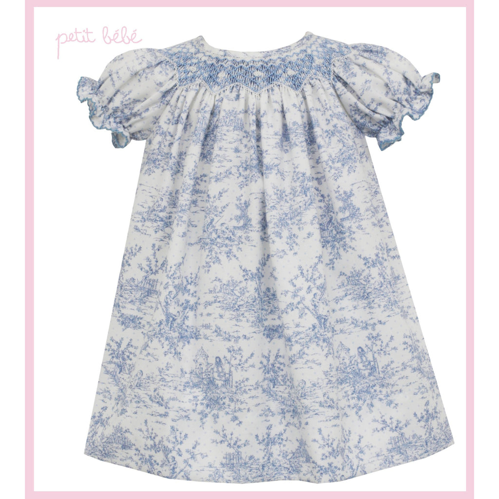 Petit Bebe - Toile Blue Bishop