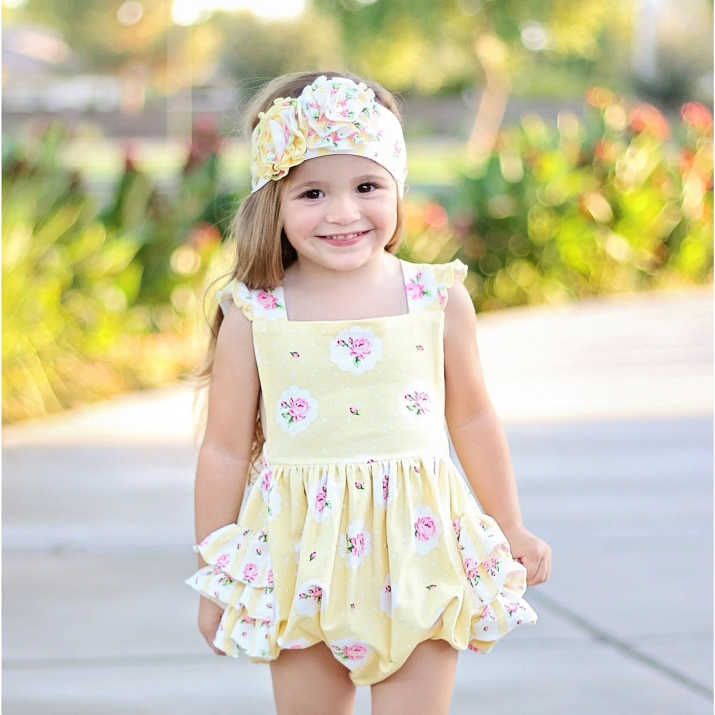 Swoon Baby Buttercup Bubble Romper