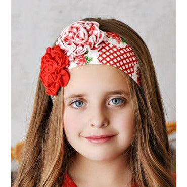 Swoon Baby - Laurel Headband Prim Rose