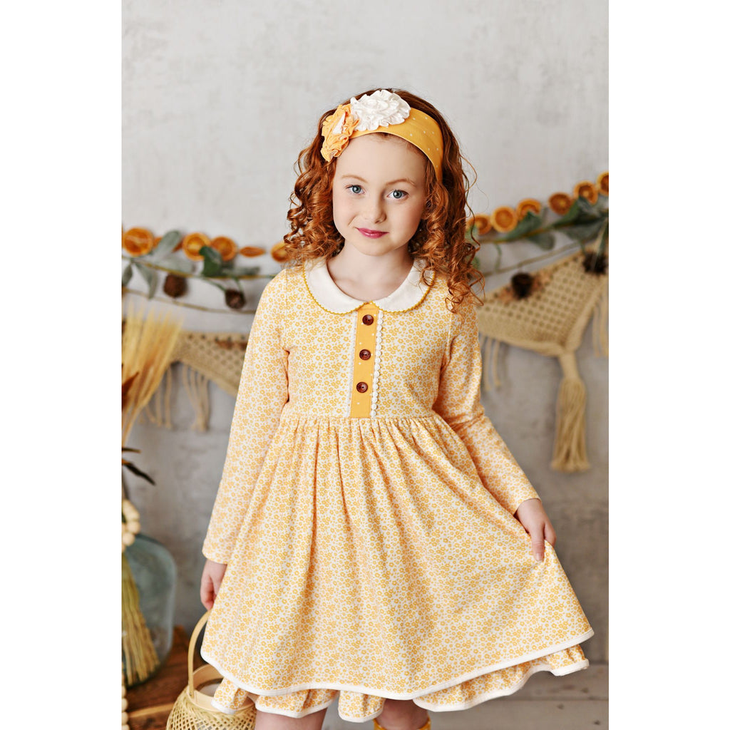 Swoon Baby - Savannah Picot Petal Frock Dress