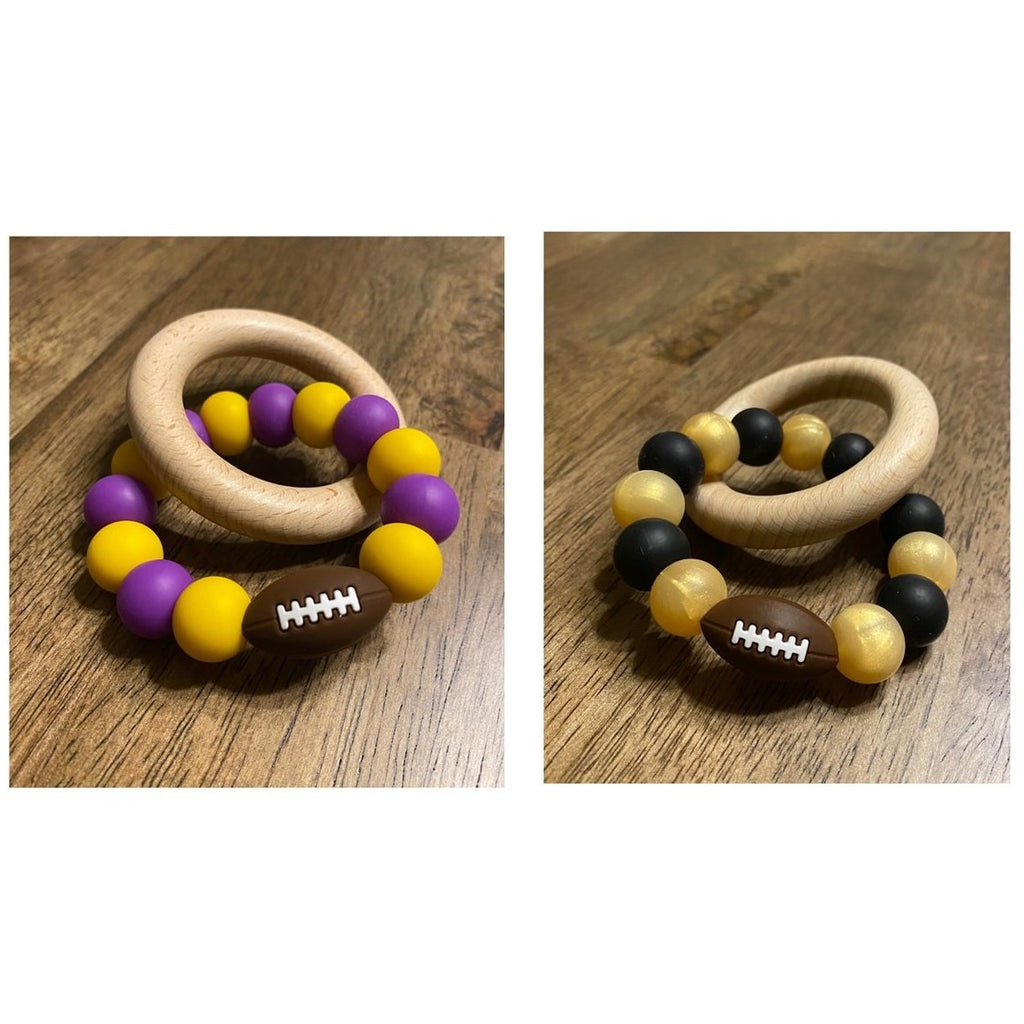 Tooda's Teethers - Silicone Teethers LSU or SAINTS