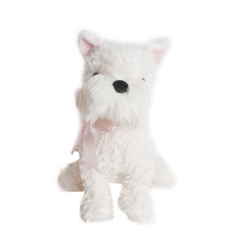 "Mon Ami - ""Wes"" Cream White Westie 12"" Dog"
