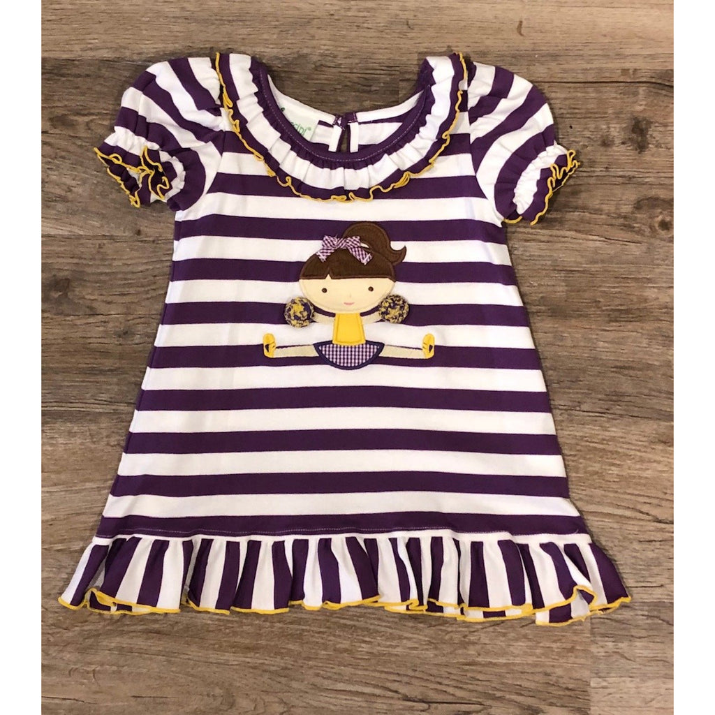 Zuccini Go Team LSU Dress