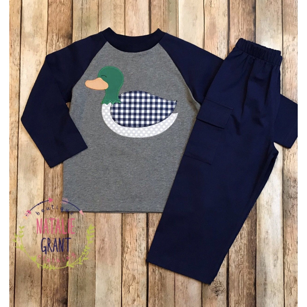 Natalie Grant - Duck Applique Pant Set