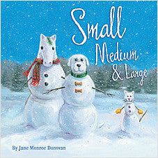 Sleeping Bear Press - Small Medium & Large Christmas Book