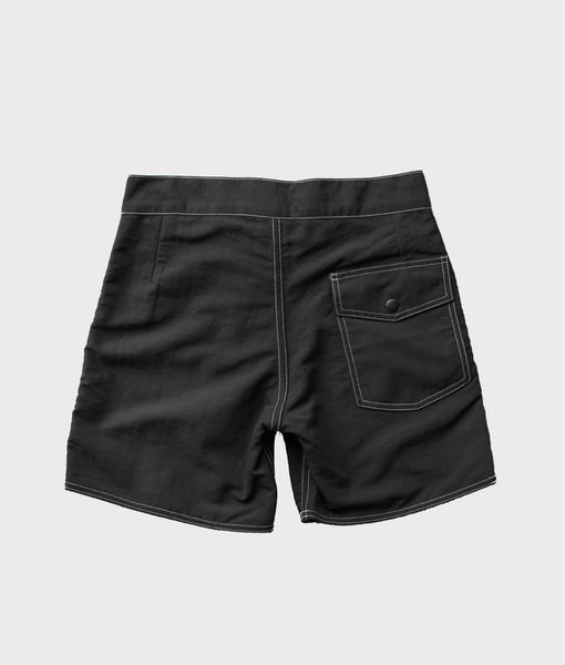 50's Surf Trunk- Black