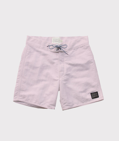 50's Surf Trunk- Pale Pink