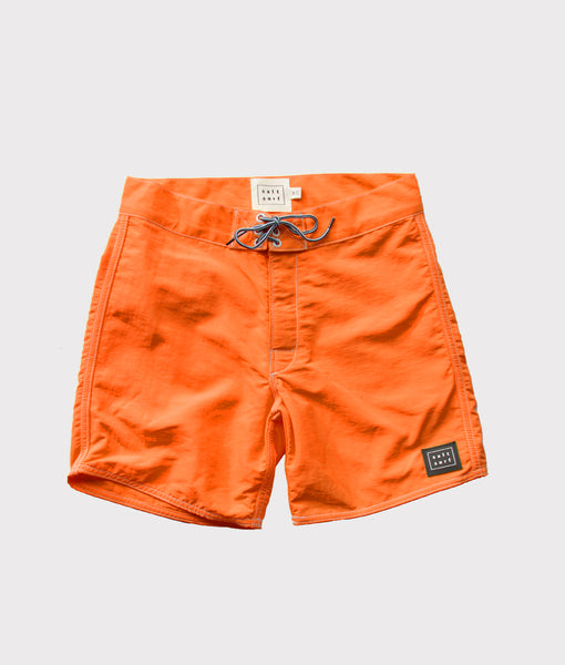 50's Surf Trunk- Tangerine