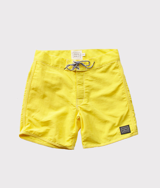 50's Surf Trunk- Canary- SALE