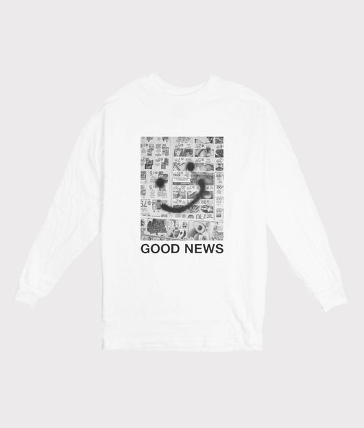 Good News Long Sleeve Tee- SALE