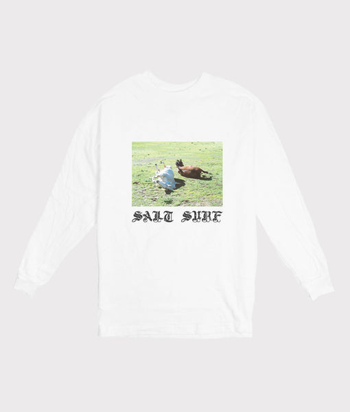 Big Sur Horses Long Sleeve Tee- SALE
