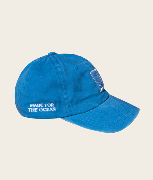 Made for the Ocean Cap- Washed Cobalt