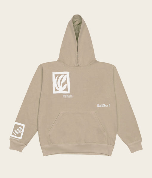 Made for the Ocean Hoodie- Sand