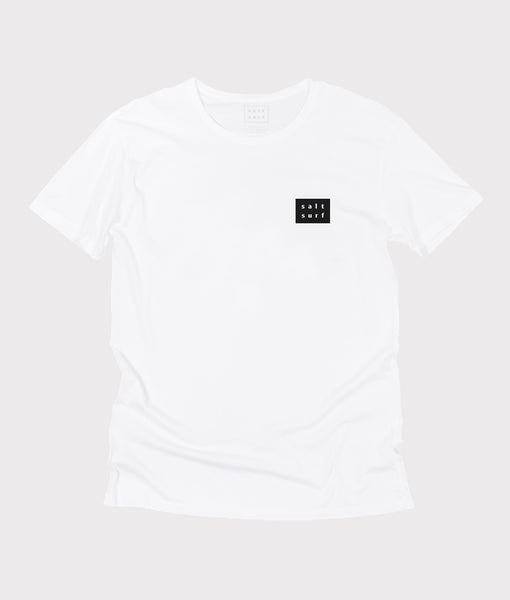 Mini Logo Tee- White