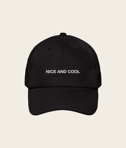Nice and Cool Cap- Black