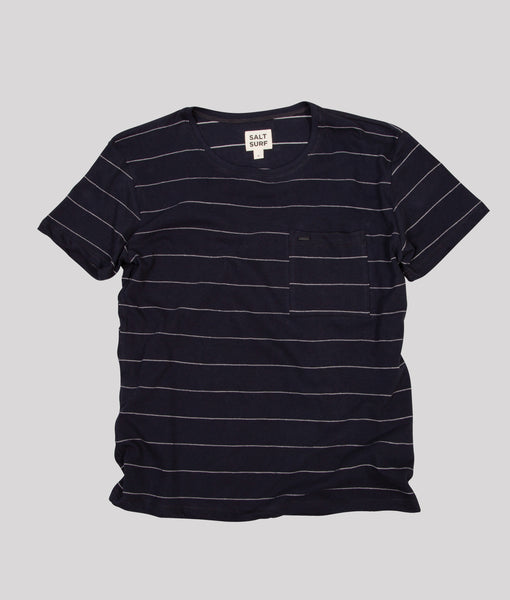 Stripe Tee, Vintage Black- SALE