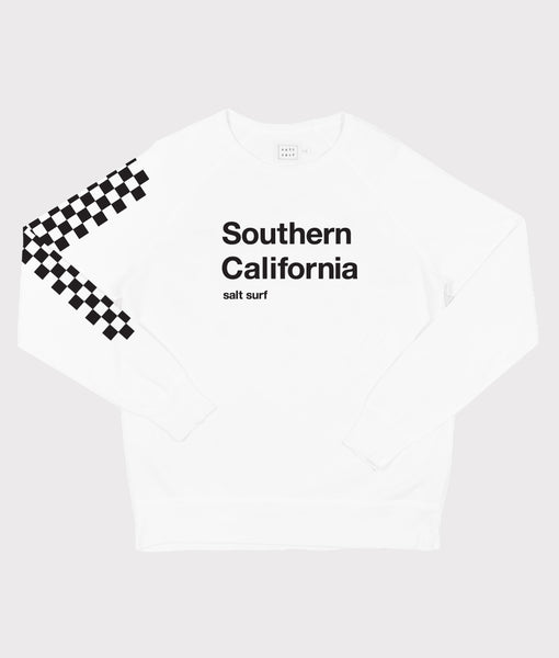 Southern California Sweatshirt- White
