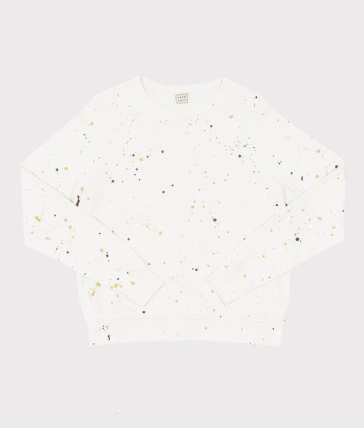 Splatter Sweatshirt- SALE