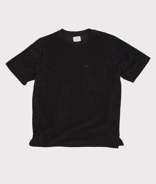Terry Tee Black- SALE