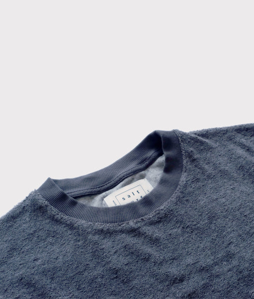 Towel Tee- Charcoal- SALE